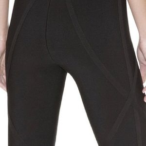 09ca50c5e72c Herve Leger Signature Essentials Leggings-XS Black